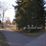 Optimist Park Sign